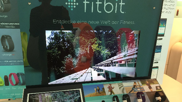 Fitness-Superwatch der Firma Fitbit Inc.