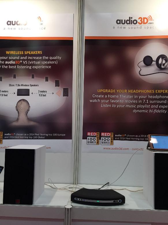 Audio3D Kopfhörersound der Firma Audio 3D