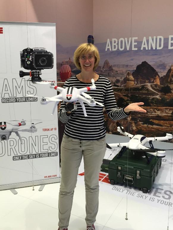Drohnen mit Echtzeitvisualisierungerung