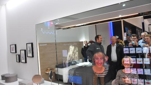 Interactiver Spiegel