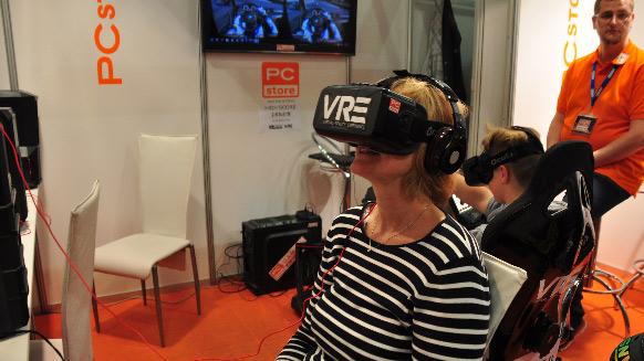 virtuelles Erlebnis mit 3D Brillen