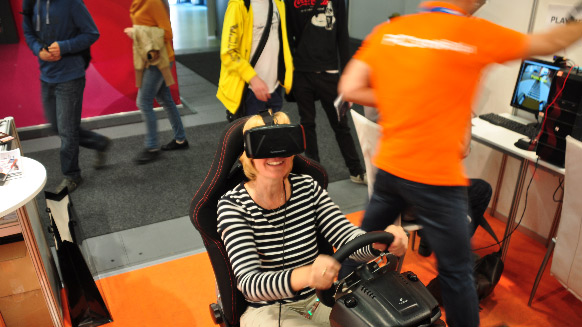Virtual Reality auf der IFA in Berlin 2015
