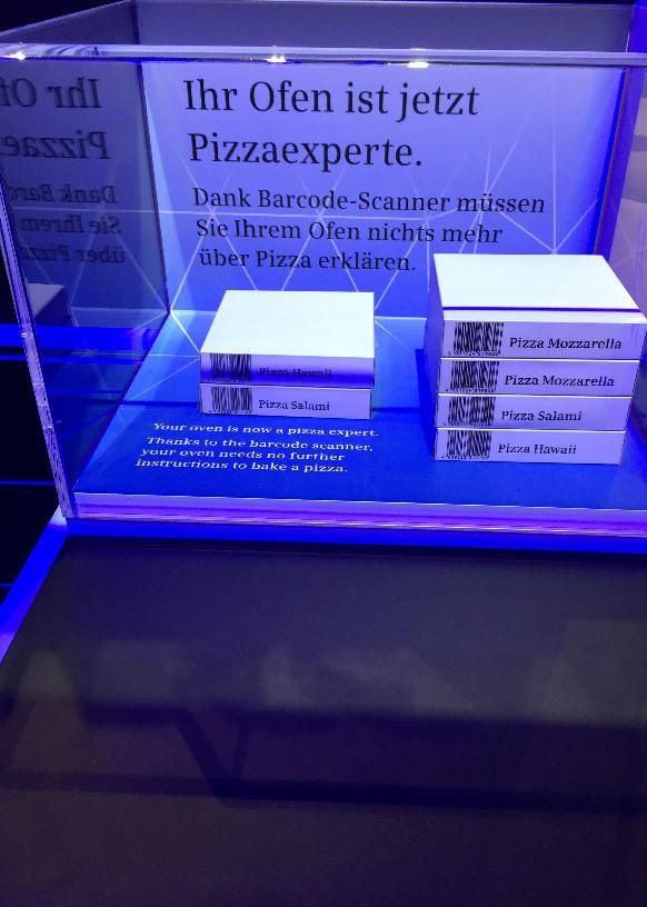 Pizzaexperte danke Barcode Scanner