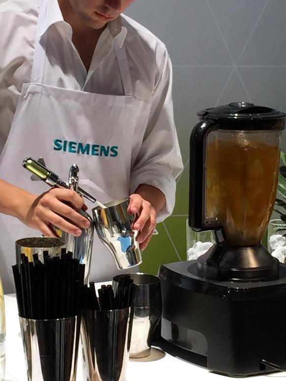 Siemens Mixer auf der IFA 2015