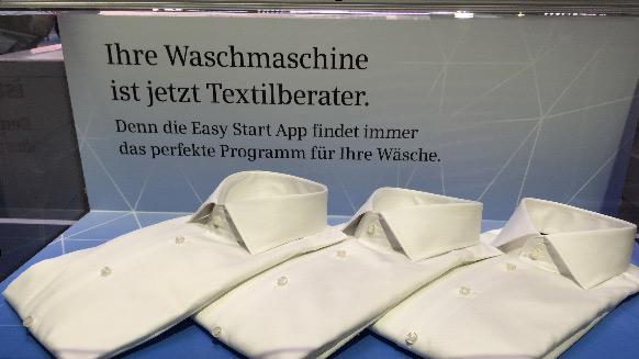 Waschmaschine von Siemens als Textilberater